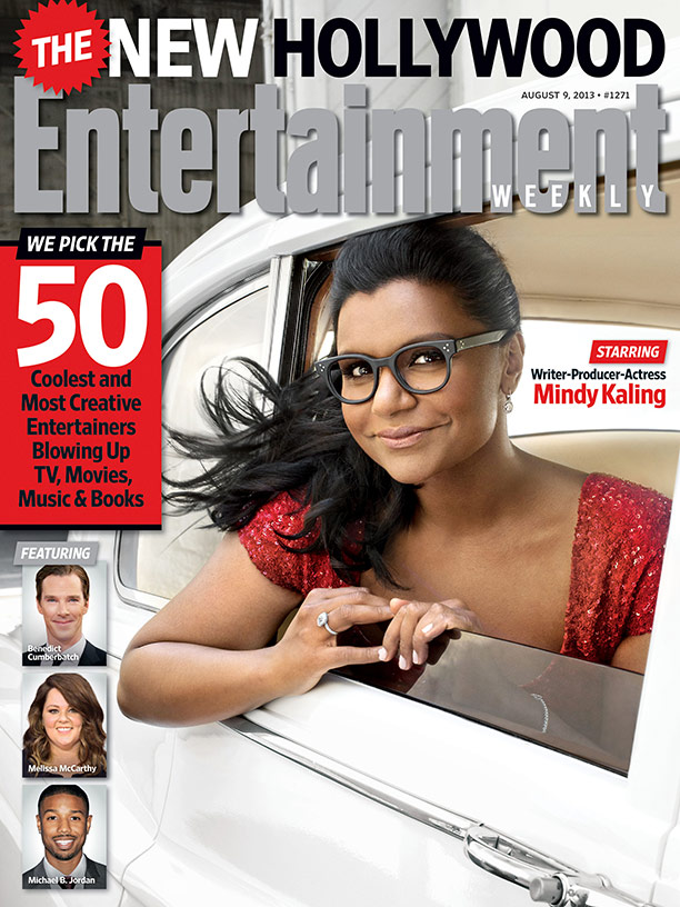 This Week S Cover The New Hollywood Starring Mindy Kaling Ew Com