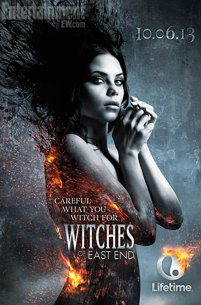 First Look Photos The Witches Of East End Catch Fire Ew Com