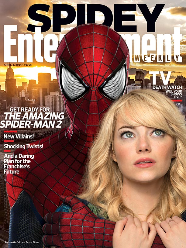 This Week S Cover Get Ready For The Amazing Spider Man 2 Ew Com