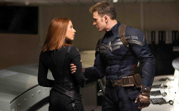 Captain America and Black Widow: Winter smolder? | EW.com