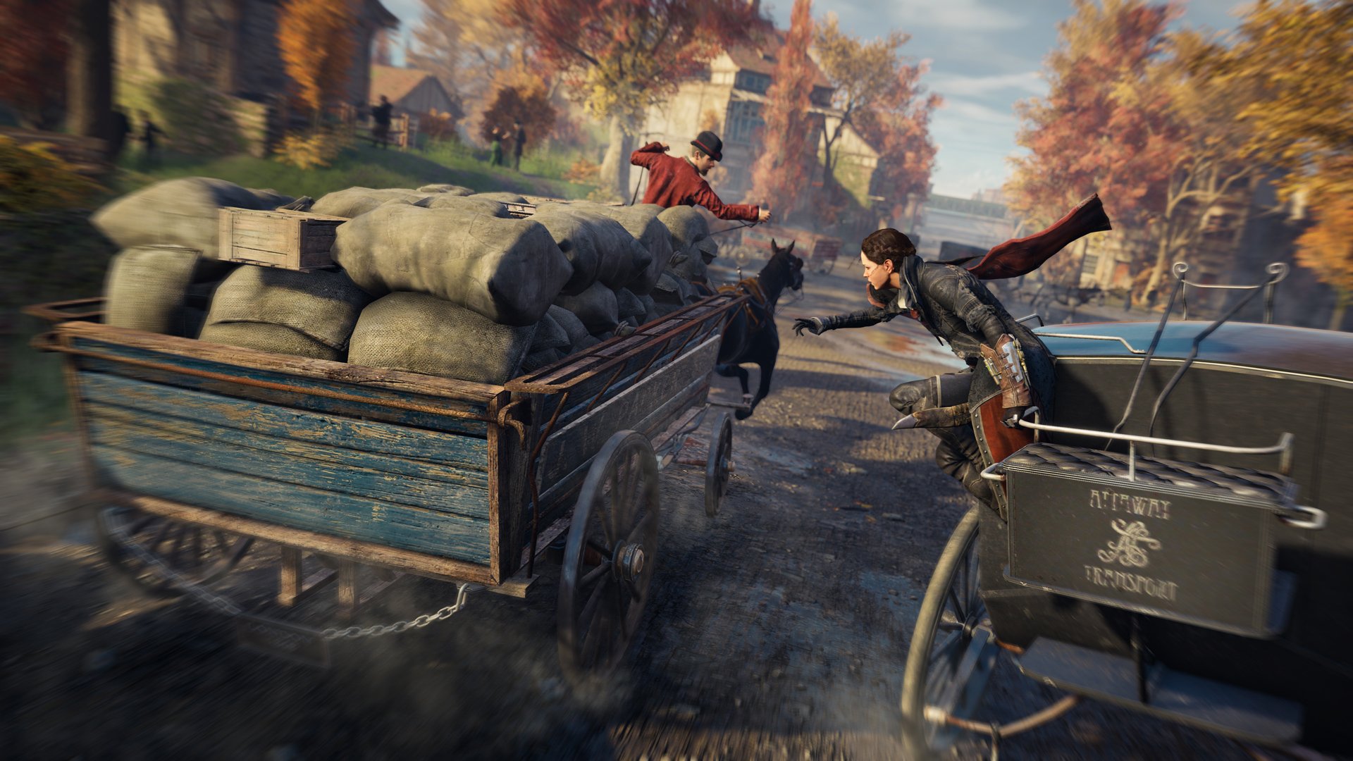 Assassin S Creed Syndicate Launch Impressions Ew Com