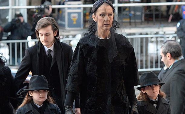 Celine Dion Husband Rene Angelil Mourned At Funeral In Montreal Ew Com