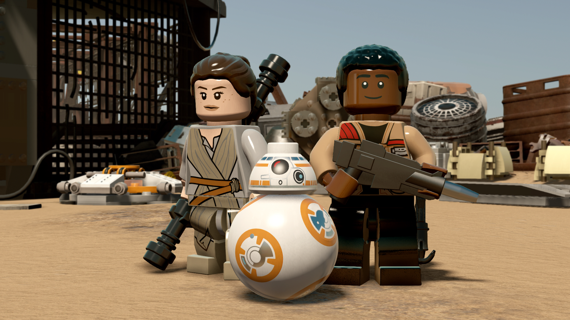 Lego Star Wars The Force Awakens Gameplay Trailer Ew Com