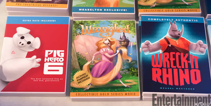 Zootopia 7 Easter Eggs You Might Have Missed Ew Com