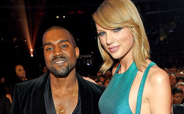 Taylor Swift Kim Kardashian Posts Video Of Kanye West Talking Famous Lyric Ew Com