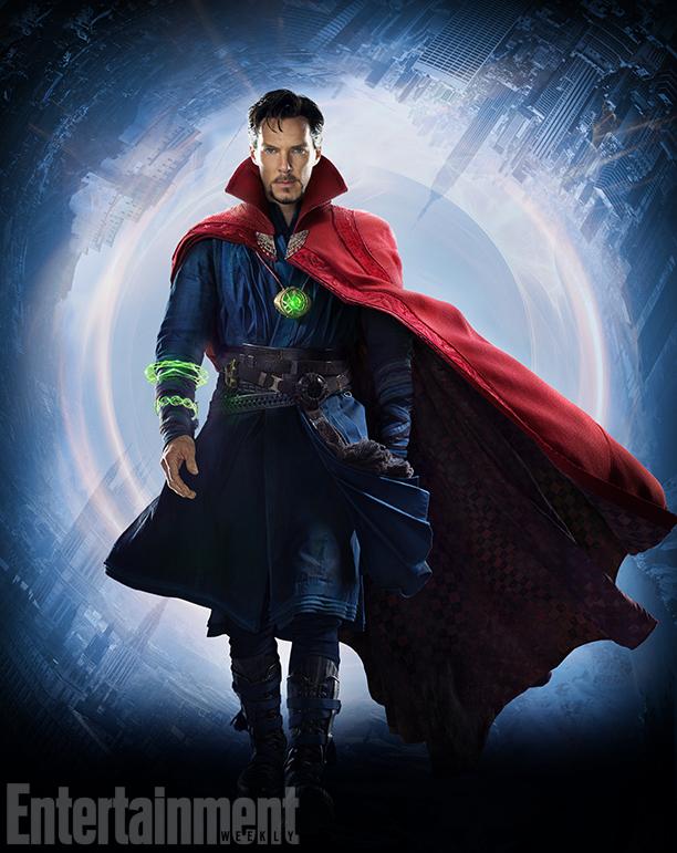 Doctor Strange Benedict Cumberbatch Reveals The Movie Magic Behind His Costume Ew Com