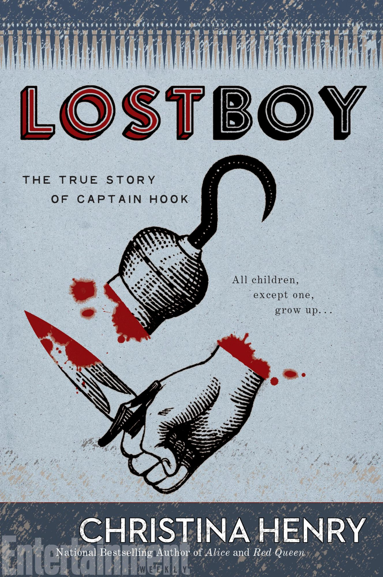 Captain Hook Origin Story Lost Boy Excerpt Ew Com
