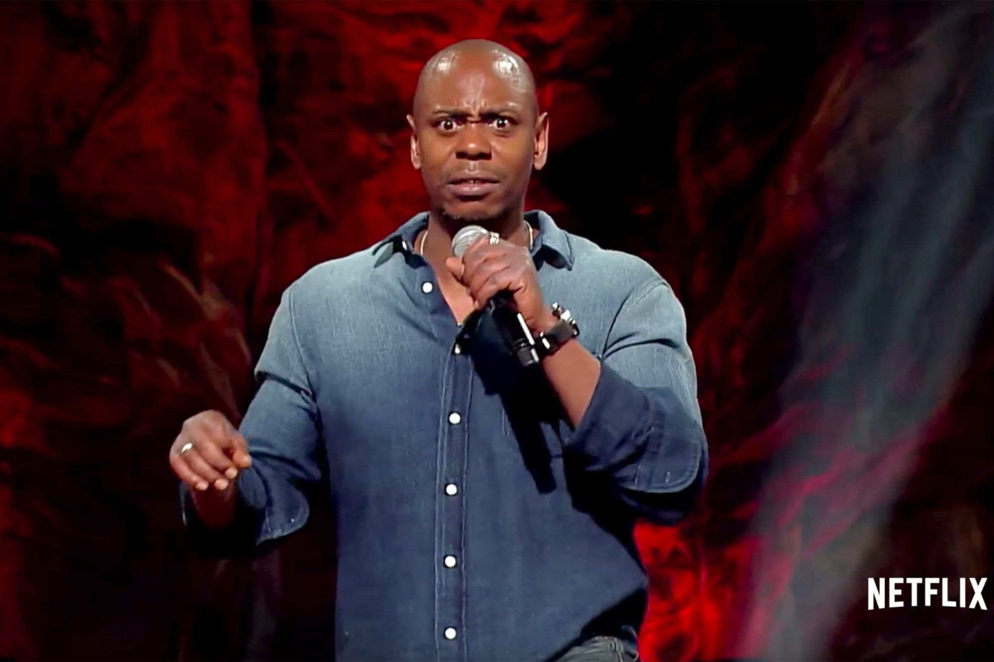 dave chappelle s back in new netflix special trailer ew com dave chappelle s back in new netflix
