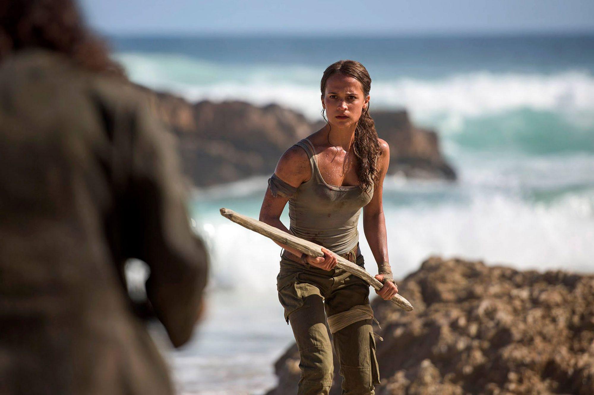 Tomb Raider See Alicia Vikander As Lara Croft Ew Com