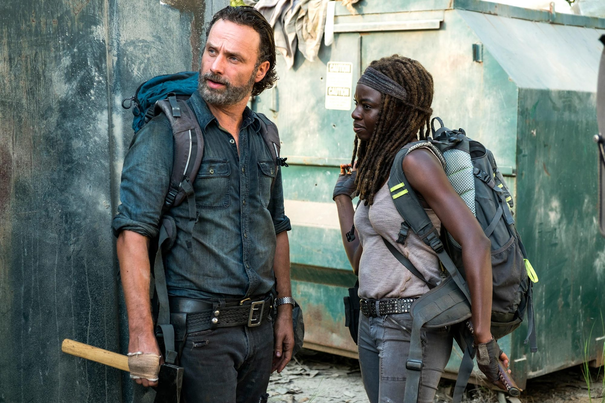The Walking Dead Recap Season 7 Episode 12 Ew Com