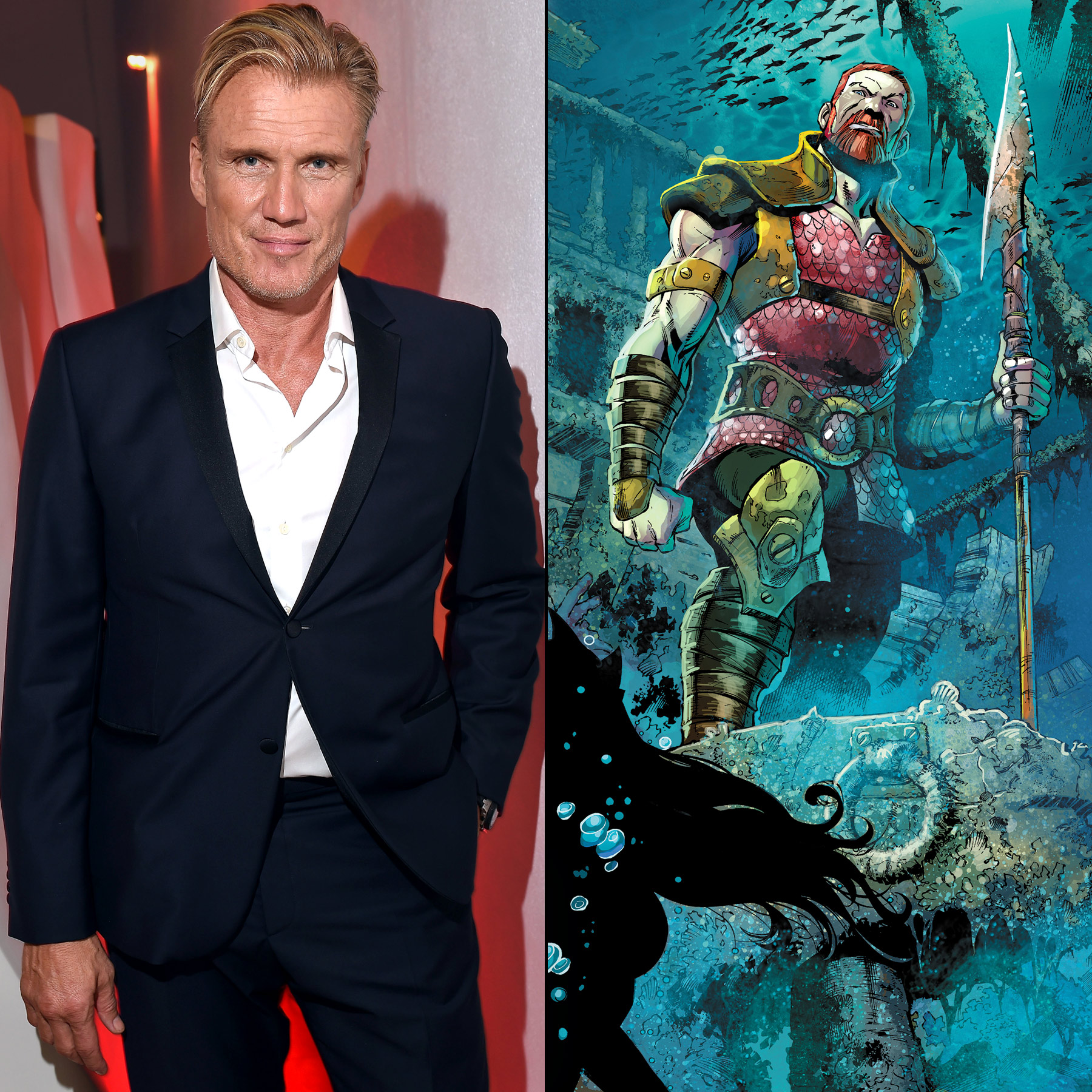 Aquaman adds Dolph Lundgren as undersea ruler Nereus