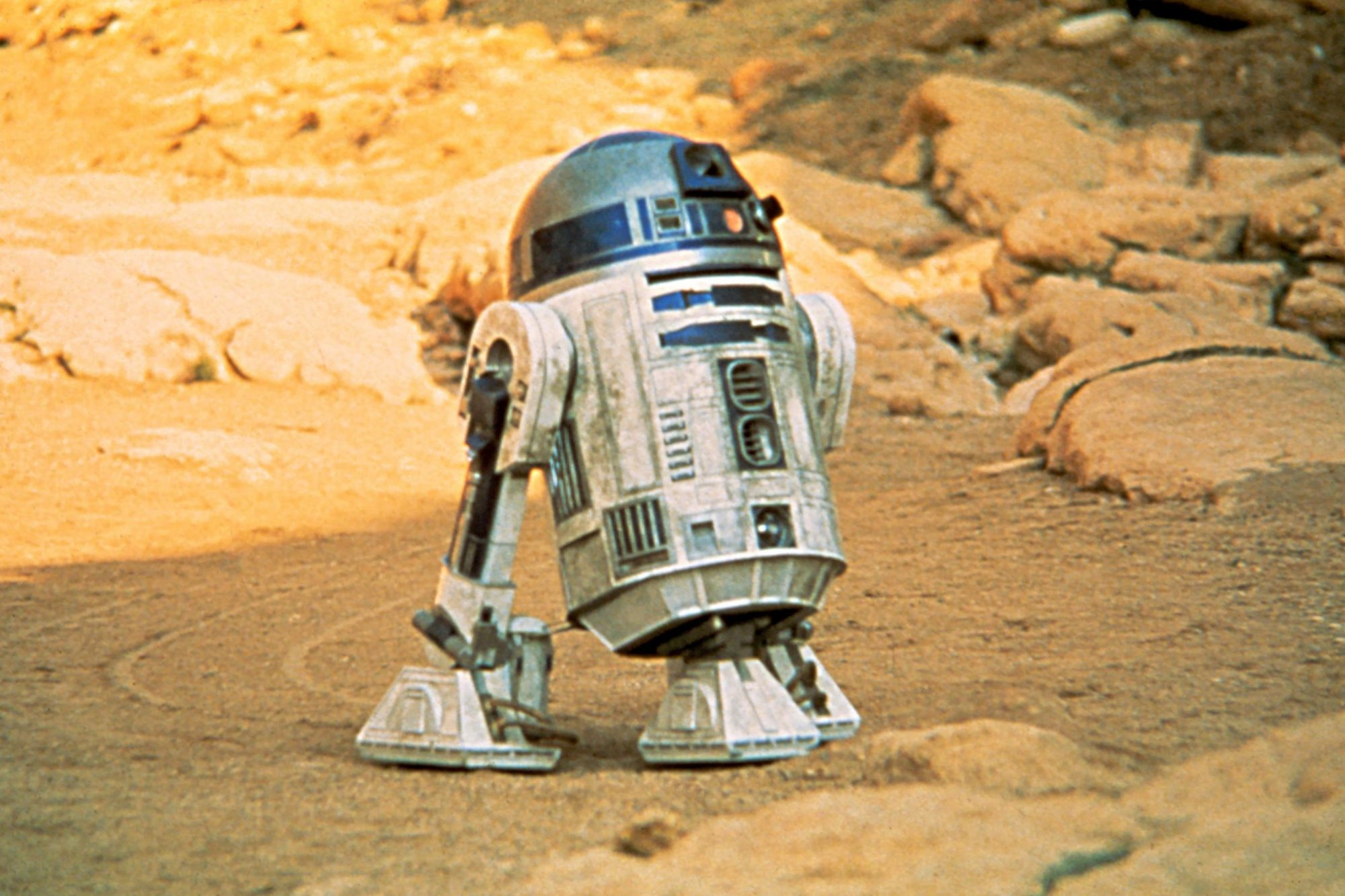 R2D2 from the Original Star Wars Trilogy