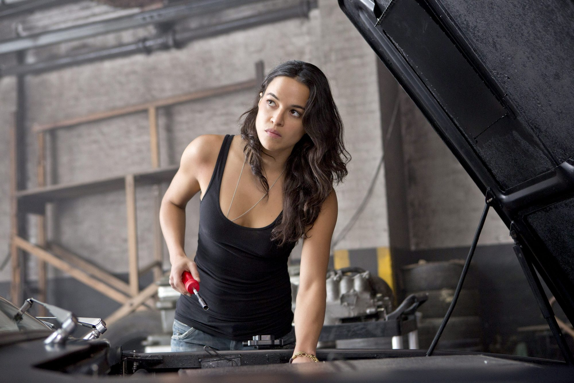 See First Fast Furious 9 Cast Photo From Michelle Rodriguez S Birthday On Set Ew Com