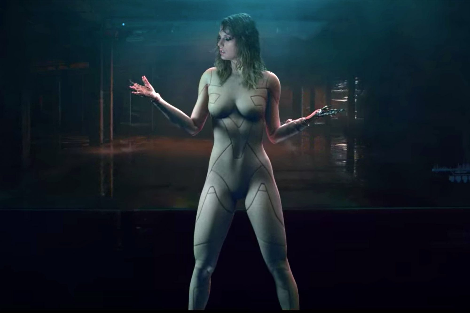 Taylor Swift Addresses Nude Bodysuit In Ready For It Music Video Ew Com