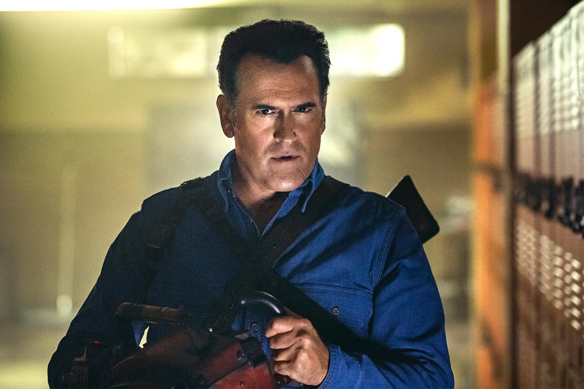 Ash vs. Evil Dead star Bruce Campbell actor iconic role