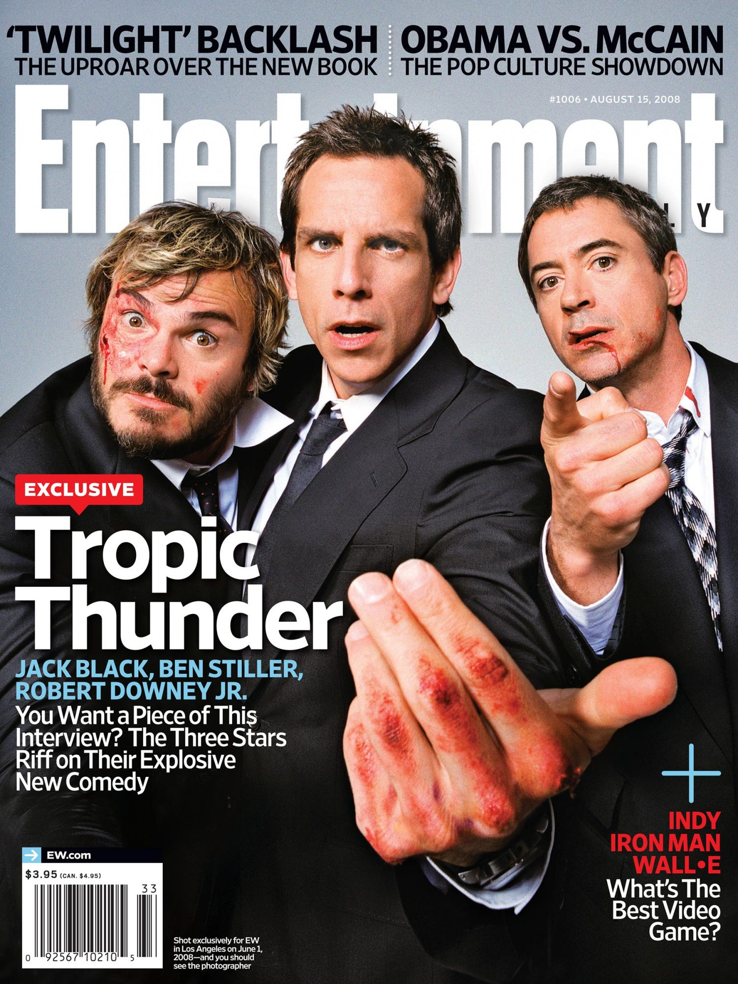 Tropic Thunder 2008 Ew Cover Story Ew Com