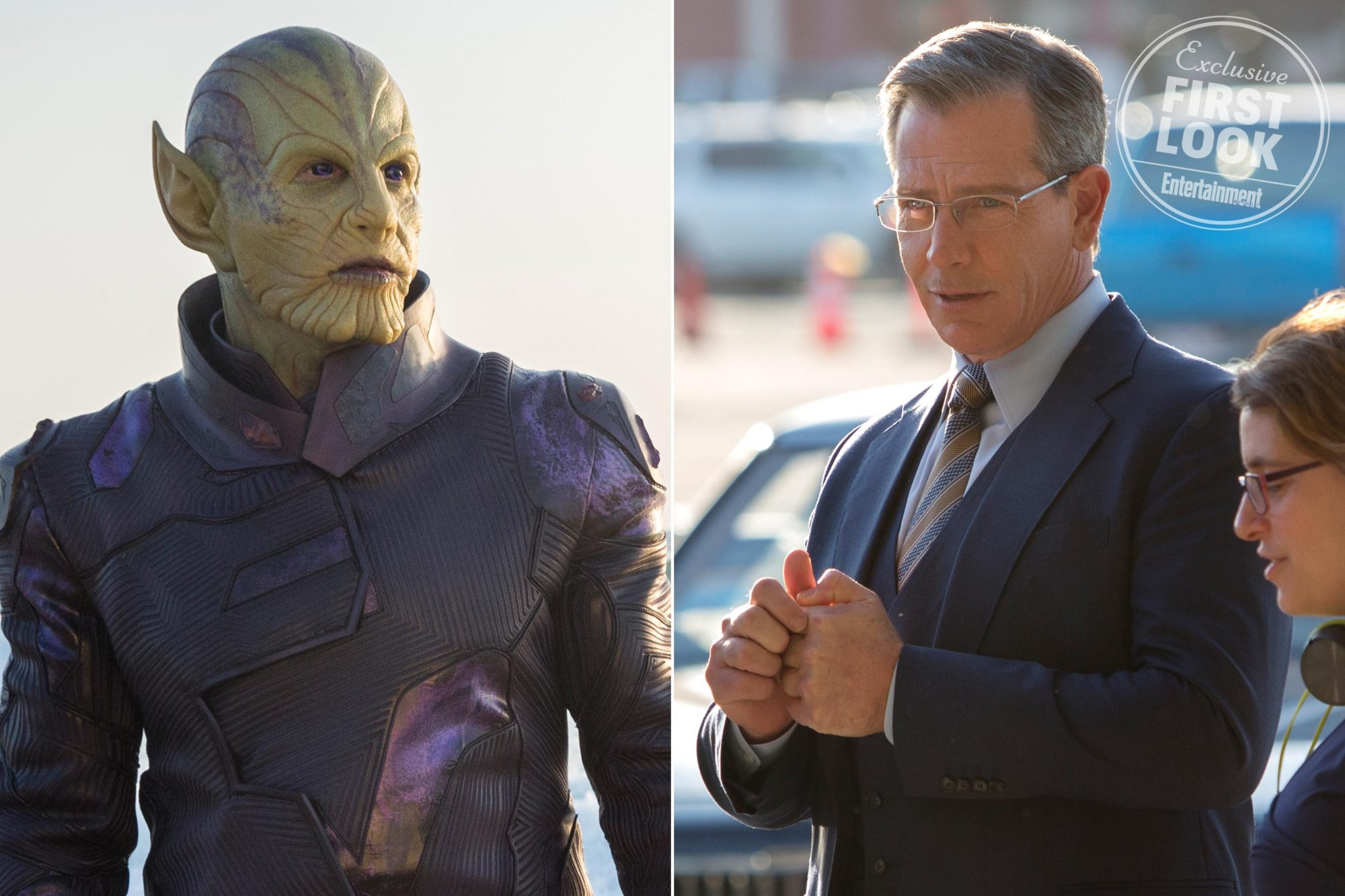 Captain Marvel Ben Mendelsohn thinks the evil Skrulls are just ...