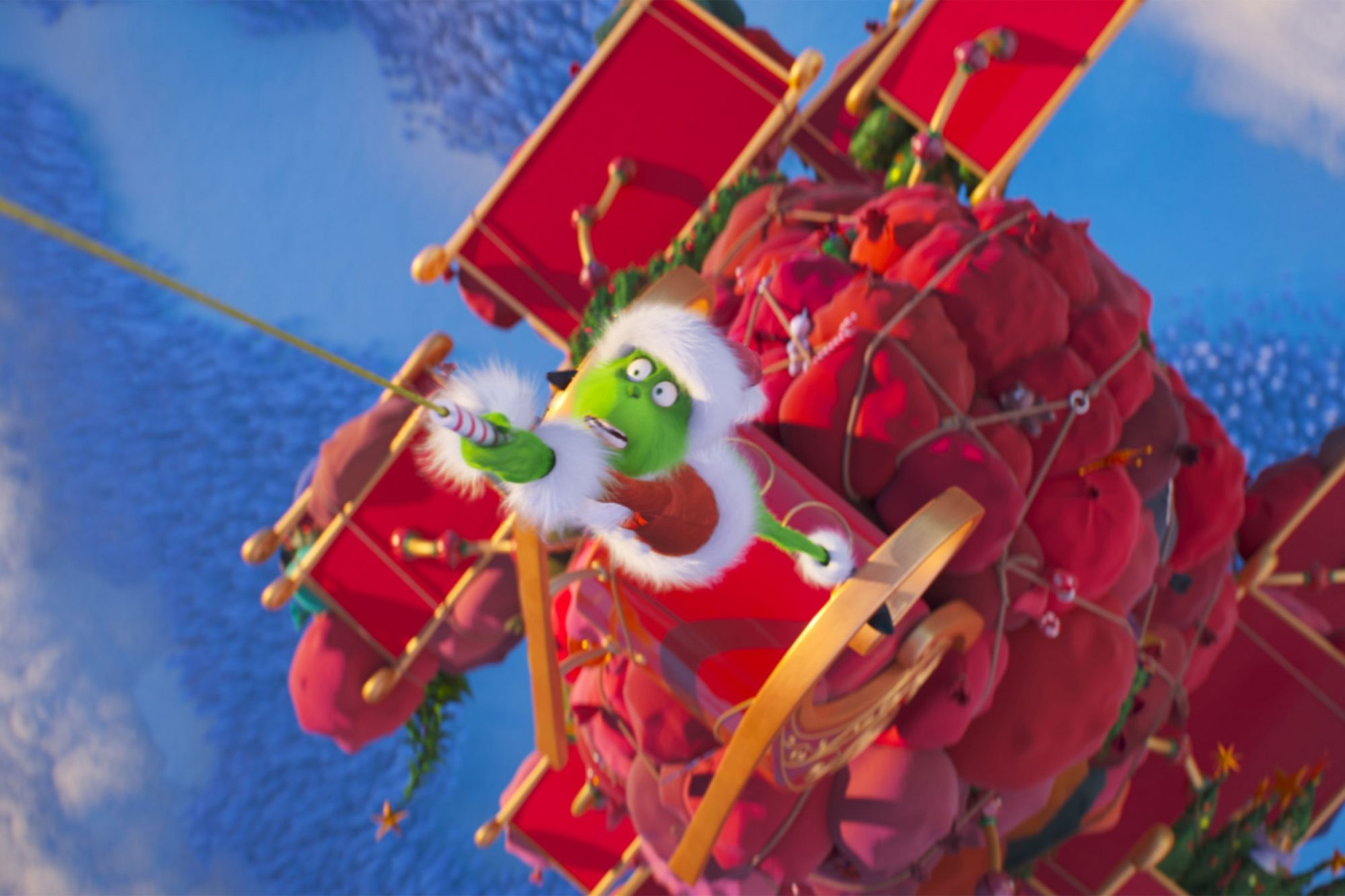 The Grinch Review Benedict Cumberbatch Brings Fresh Revamp To The Green Christmas Meanie Ew Com