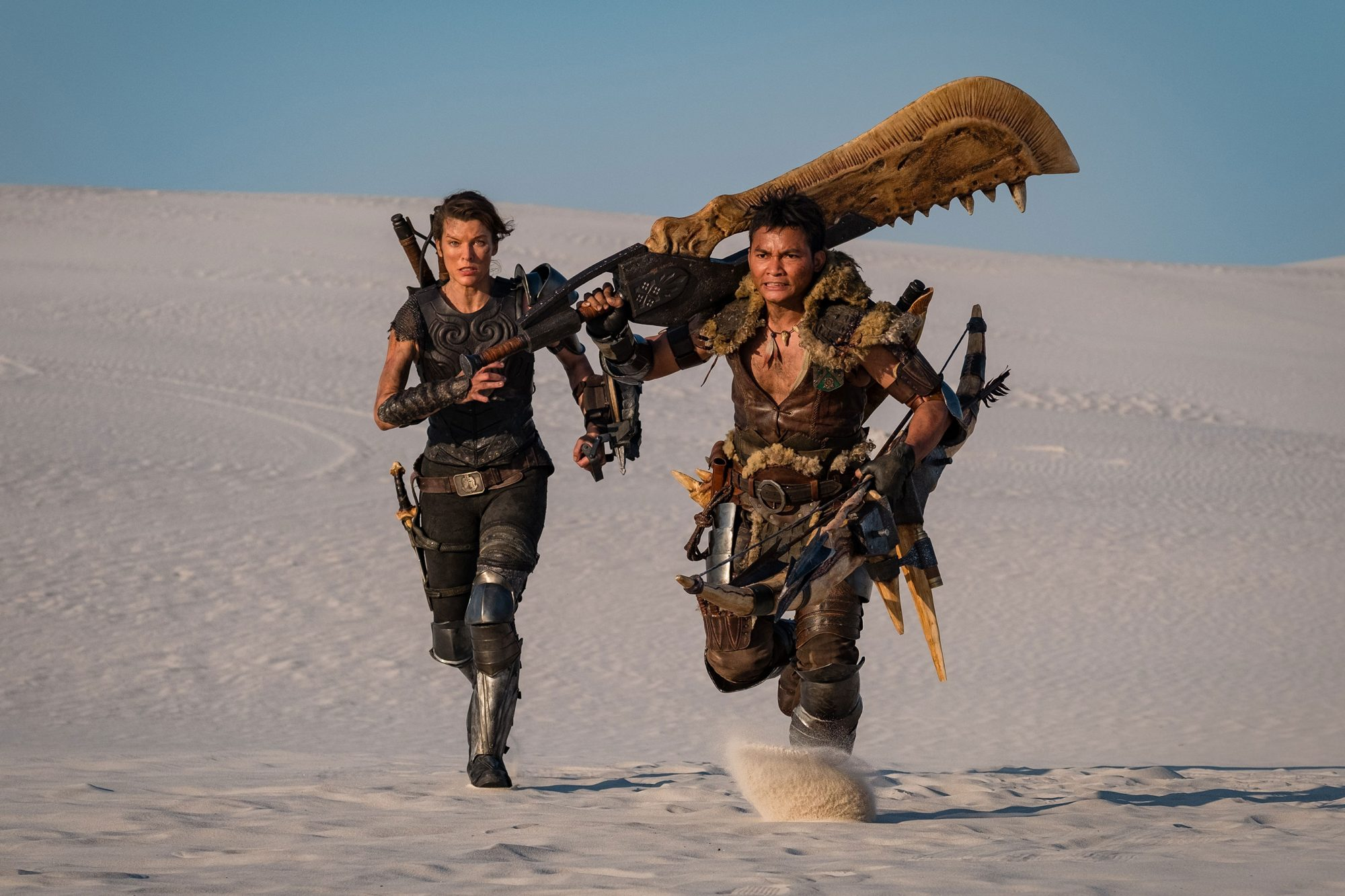 Monster Hunter Movie Milla Jovovich In First Photo From Video Game Adaptation Ew Com