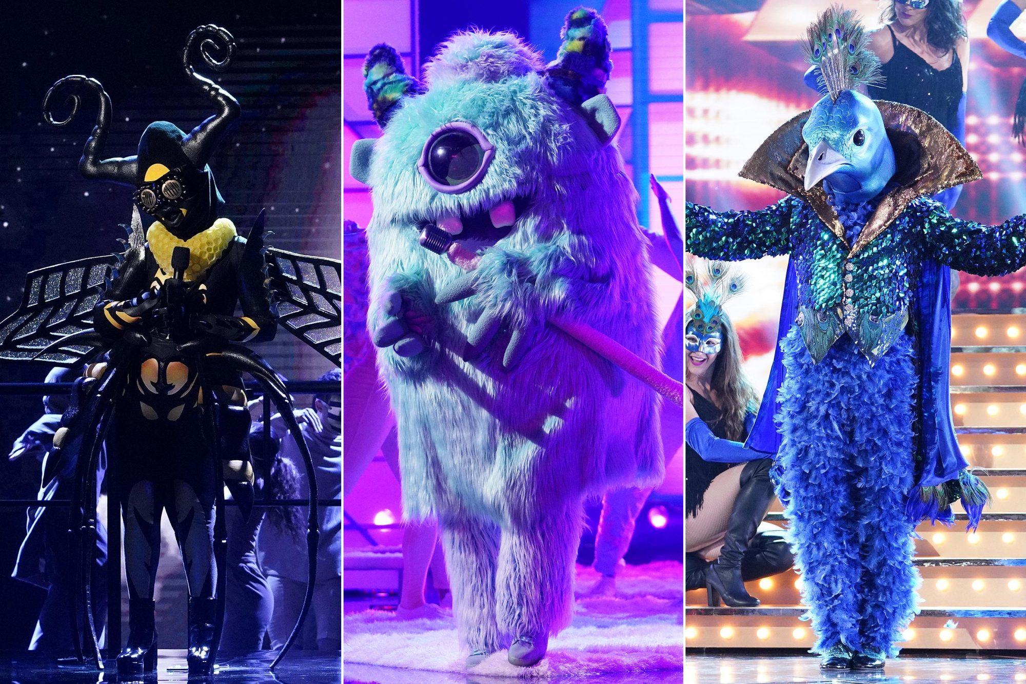 Masked Singer Season Winner Revealed Monster Bee Peacock Unveiled EW com