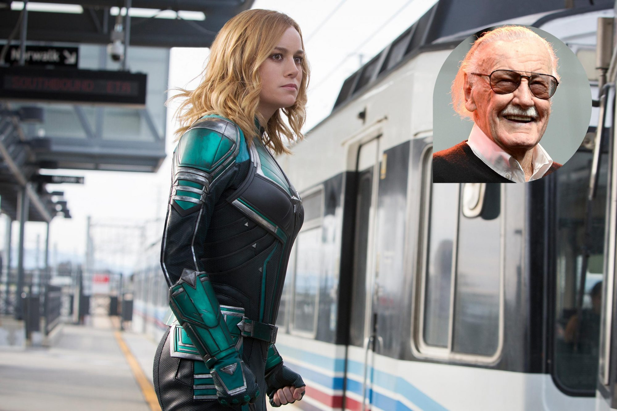 How Captain Marvel pays tribute to the late Stan Lee   EW.com