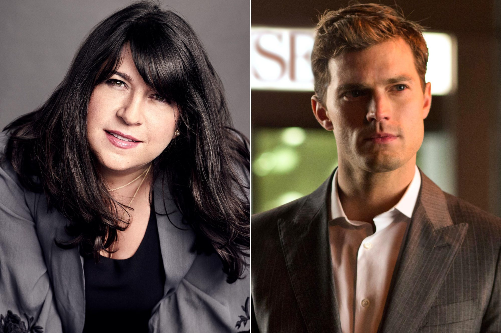 Fifty Shades Of Grey Author E L James On The Mister And Christian Grey Connection Ew Com