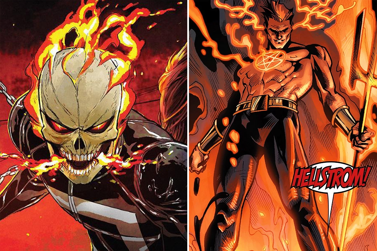 Hulu's Ghost Rider and Helstrom live ...
