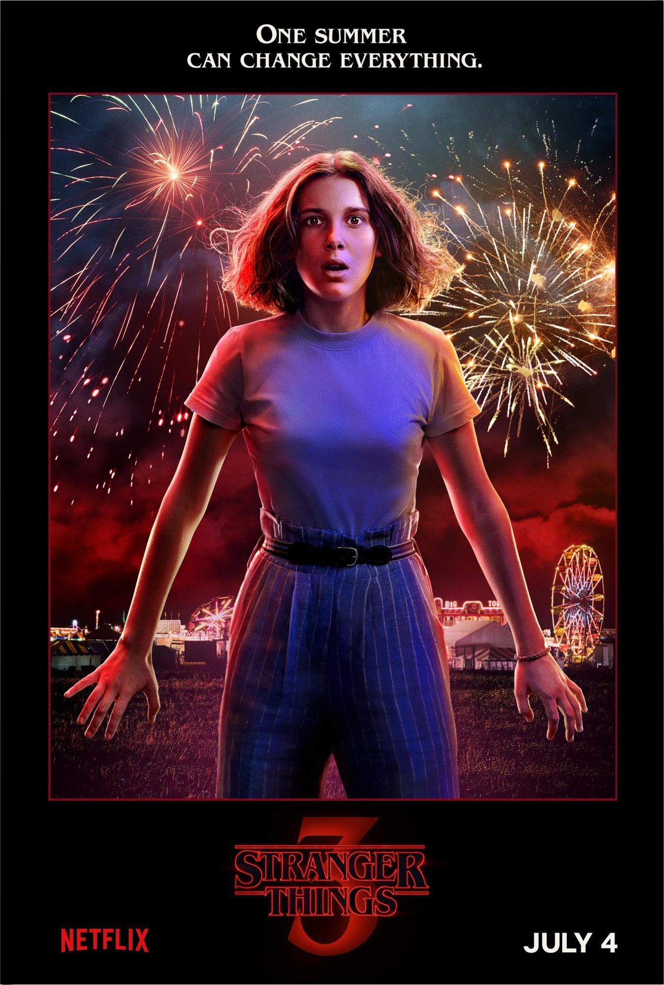 Stranger Things 3 Debuts Posters And Scene From The Premiere Ew Com All the fan favorites, like eleven (millie bobby brown), mike (finn wolfhard). stranger things 3 debuts posters and