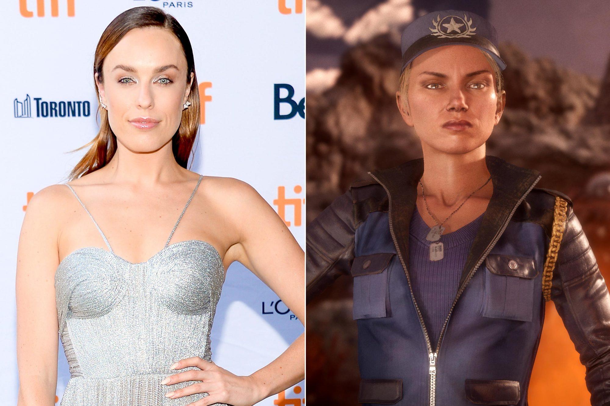 Mortal Kombat Finds Sonya Blade In Jessica Mcnamee Kano In Josh