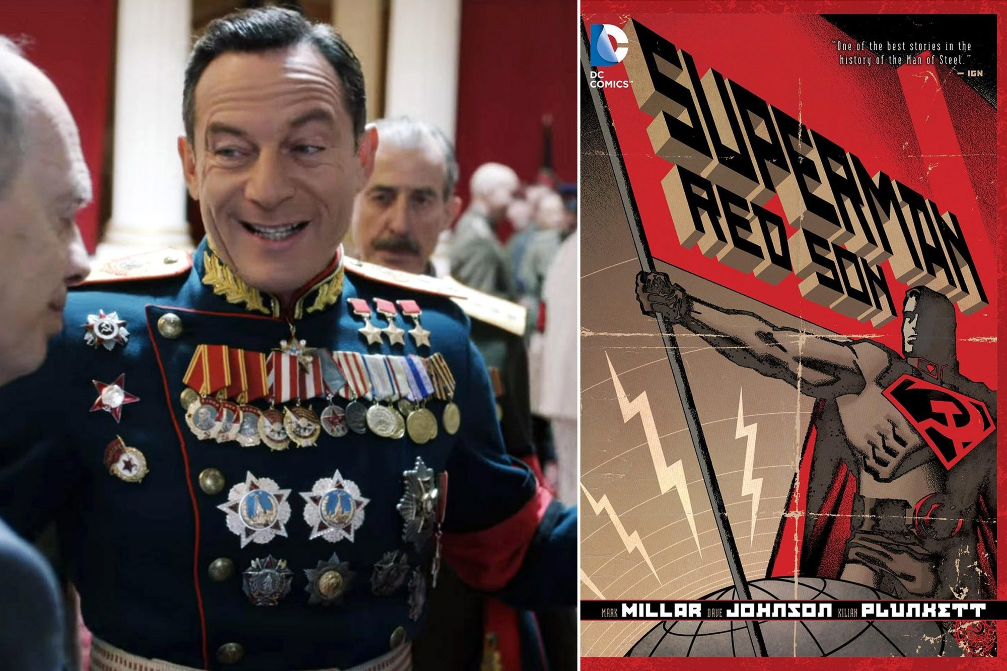 Jason Isaacs To Voice Soviet Superman In Red Son Cartoon Ew Com