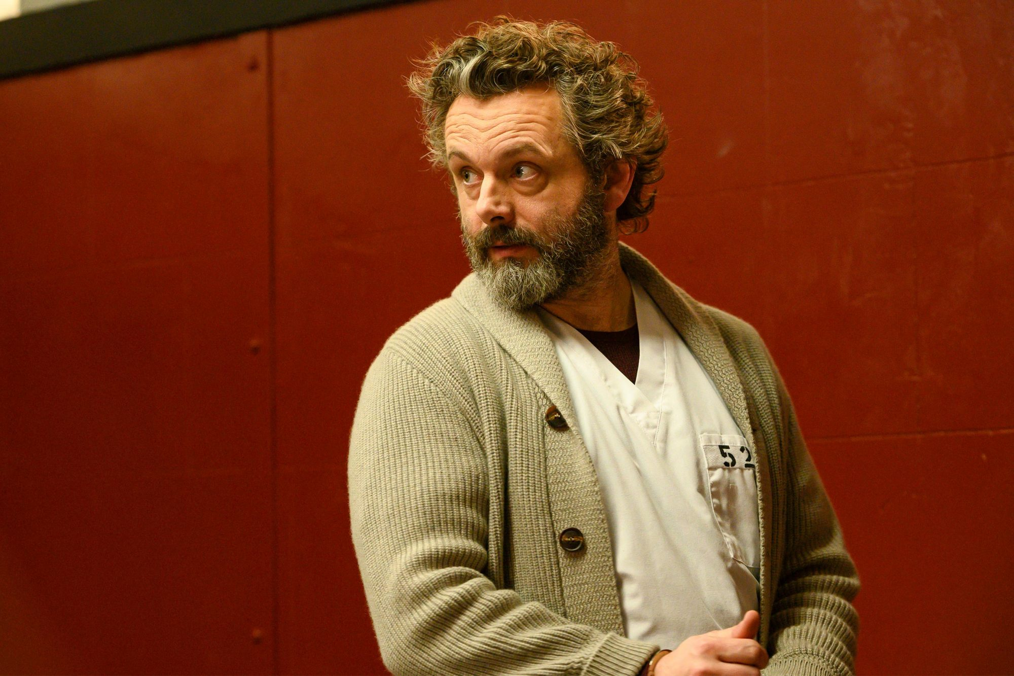Michael Sheen On His New Crime Series Prodigal Son Ew Com