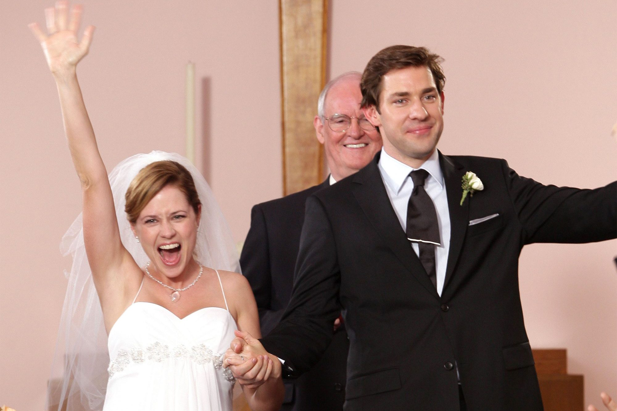 The Office: Oral history of Jim and Pam's wedding | EW.com