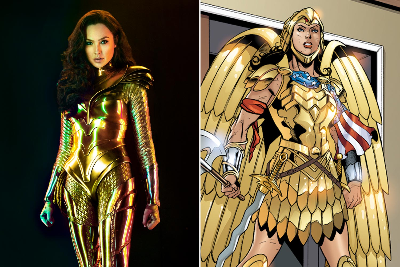 Wonder Woman 1984 S Golden Armor Explained Ew Com
