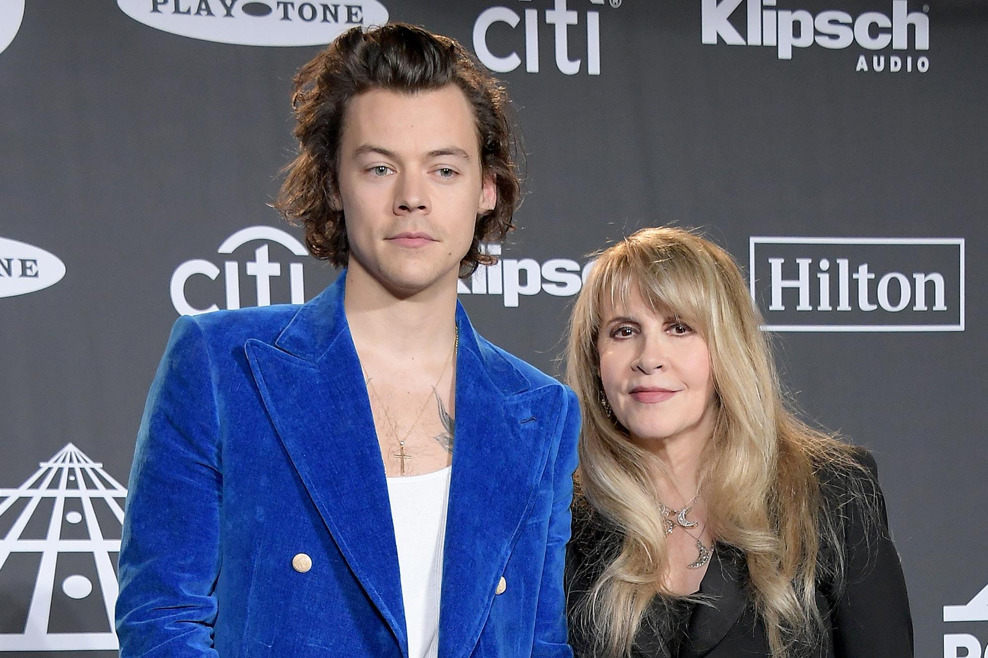 Stevie Nicks Says Harry Styles Album Fine Line Is His Rumours Ew Com
