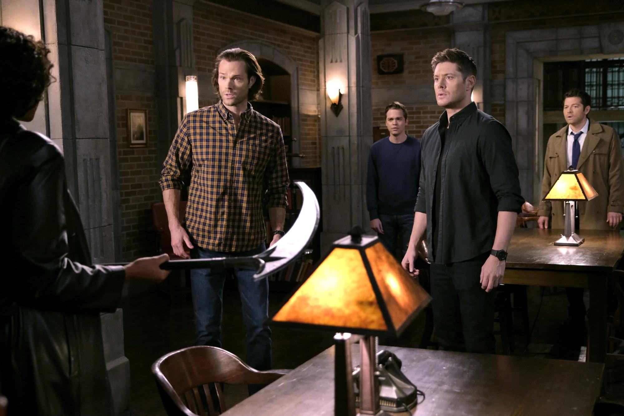 Supernatural recap Season 20, episode 20 'Galaxy Brain'   EW.com