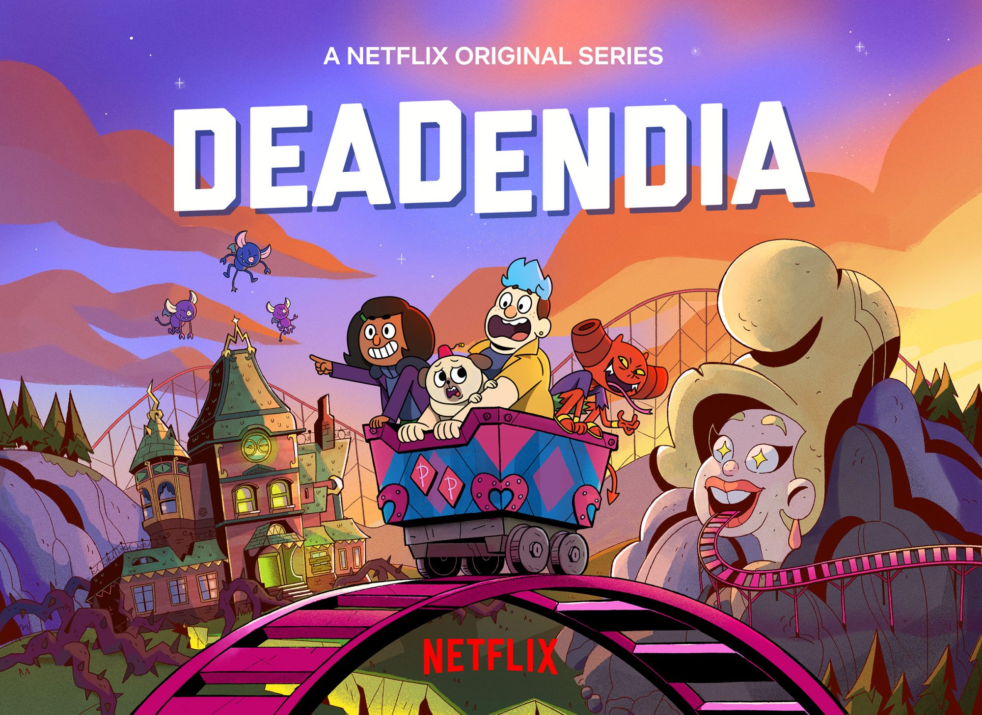 Netflix Orders Deadendia Animated Kids Series With Beetlejuice Musical Star Ew Com