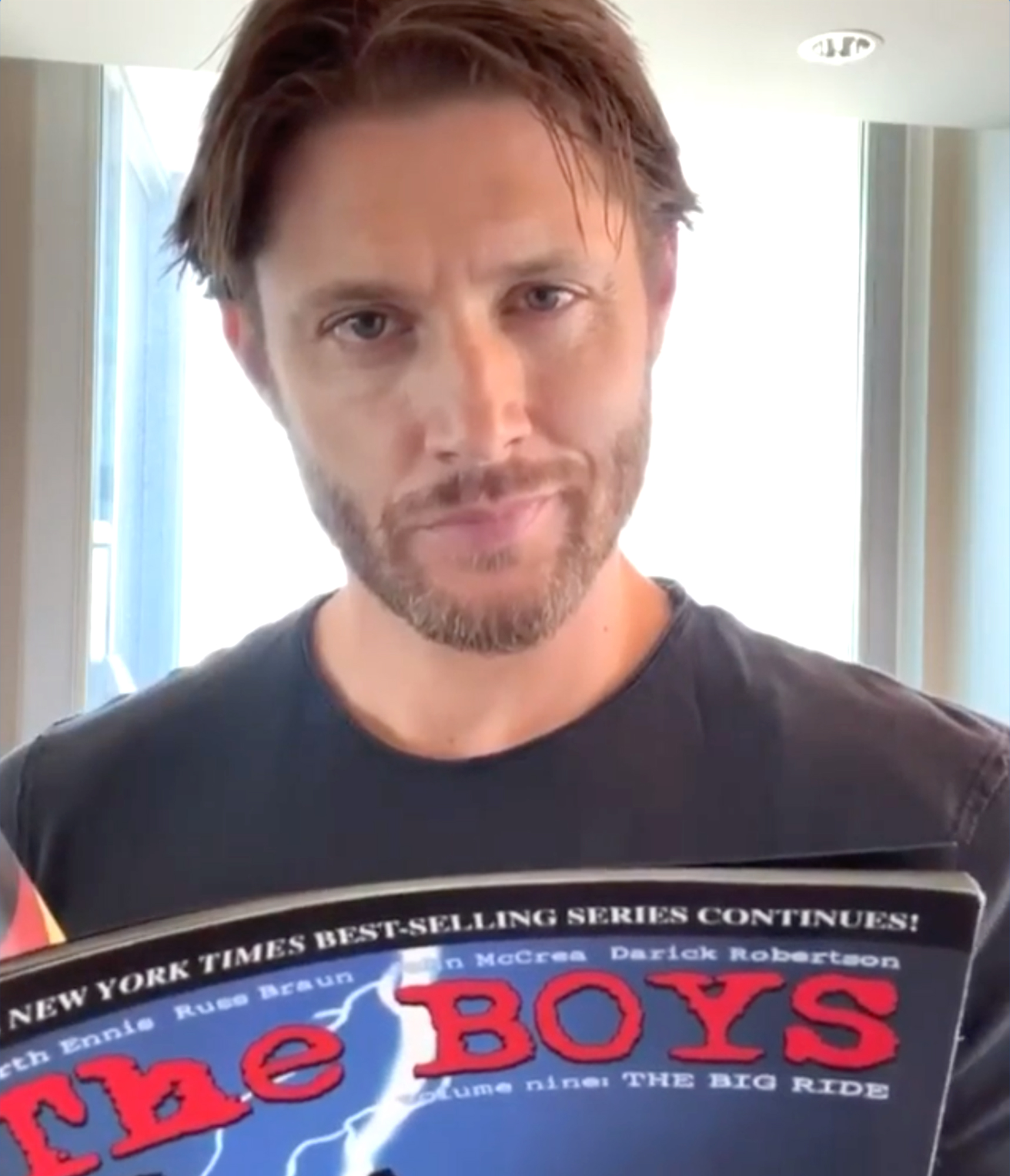 Supernatural S Jensen Ackles Is Heading To The Boys In Season 3 Ew Com