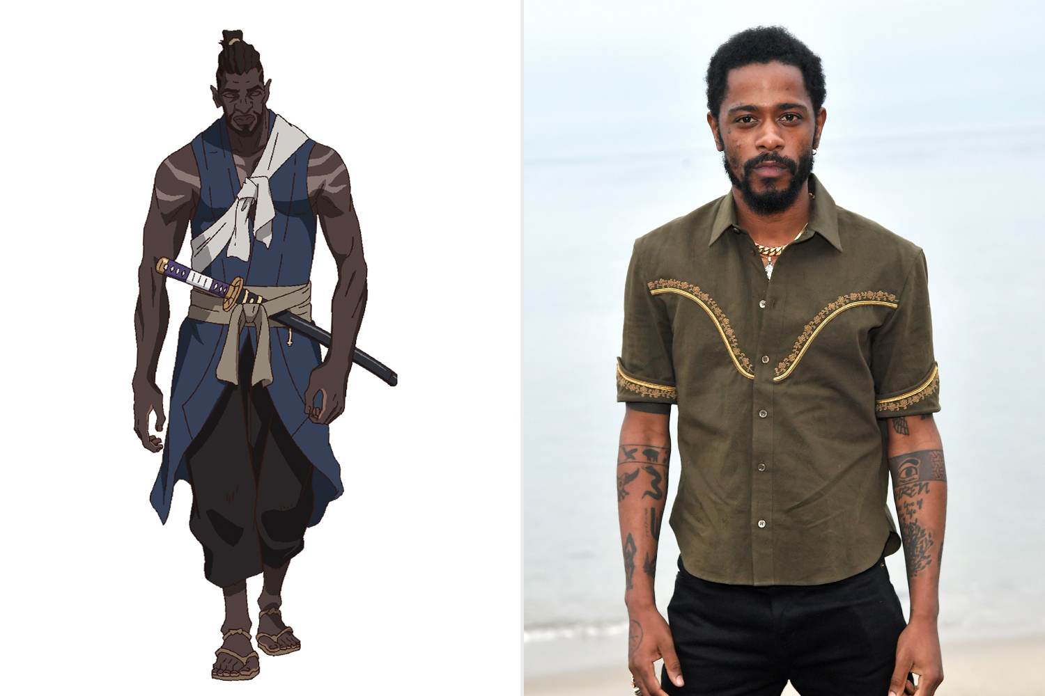 Lakeith Stanfield to play first African samurai in Netflix's Yasuke anime |  EW.com