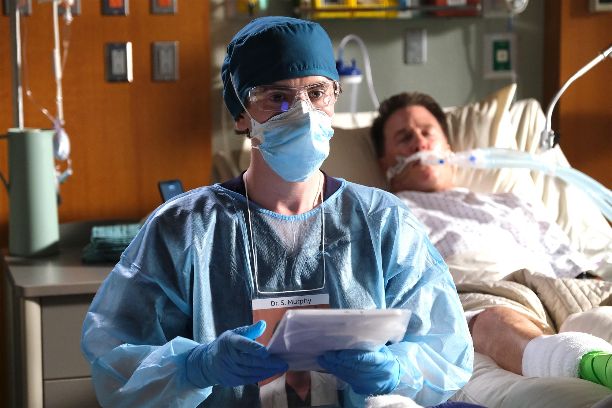 The Good Doctor Ep Explains The Season 4 Premiere S Ending Ew Com
