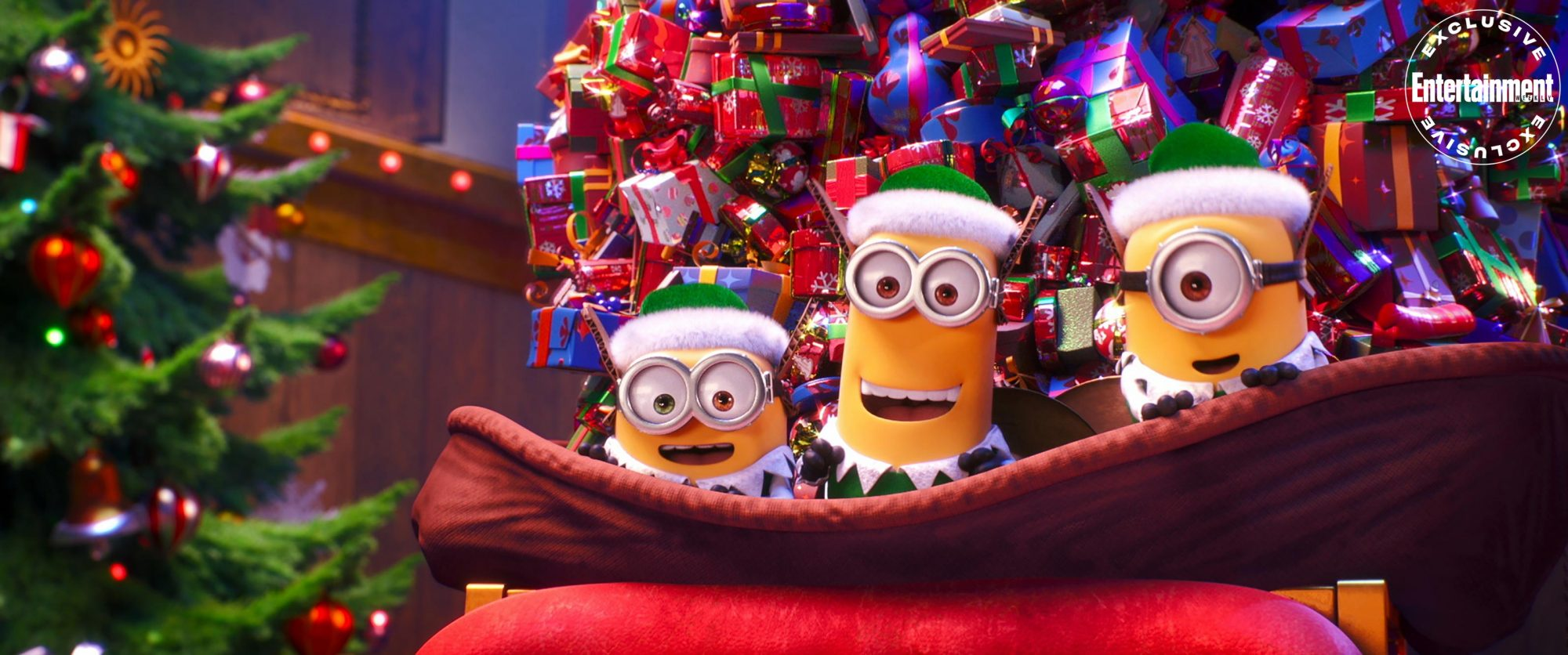 Nbs Christmas Specials 2021 First Look At Minions Holiday Special On Nbc Ew Com