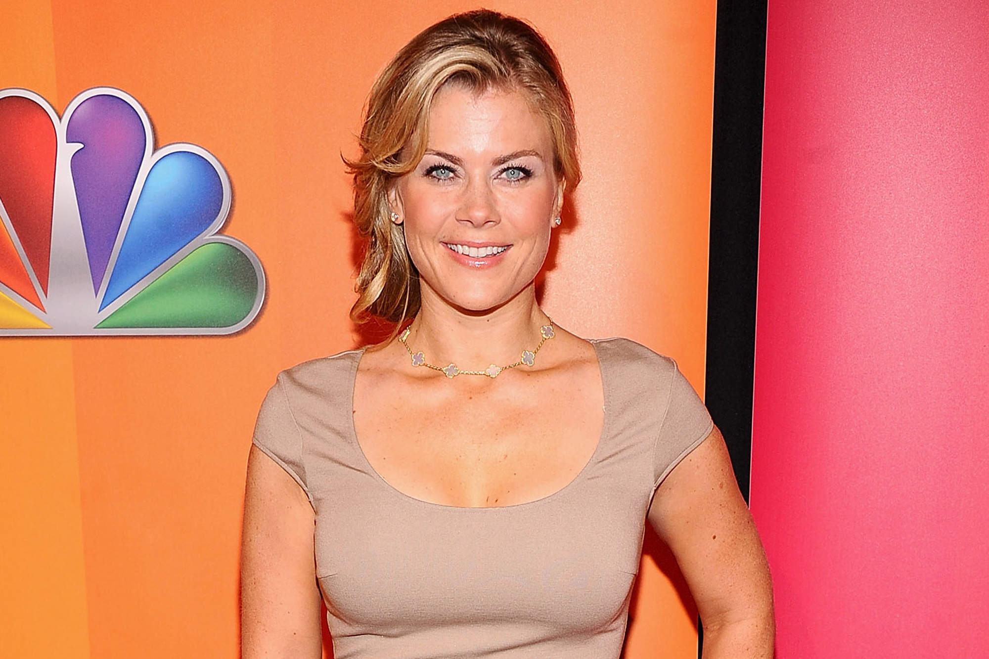 The 45-year old daughter of father (?) and mother(?) Alison Sweeney in 2021 photo. Alison Sweeney earned a  million dollar salary - leaving the net worth at  million in 2021