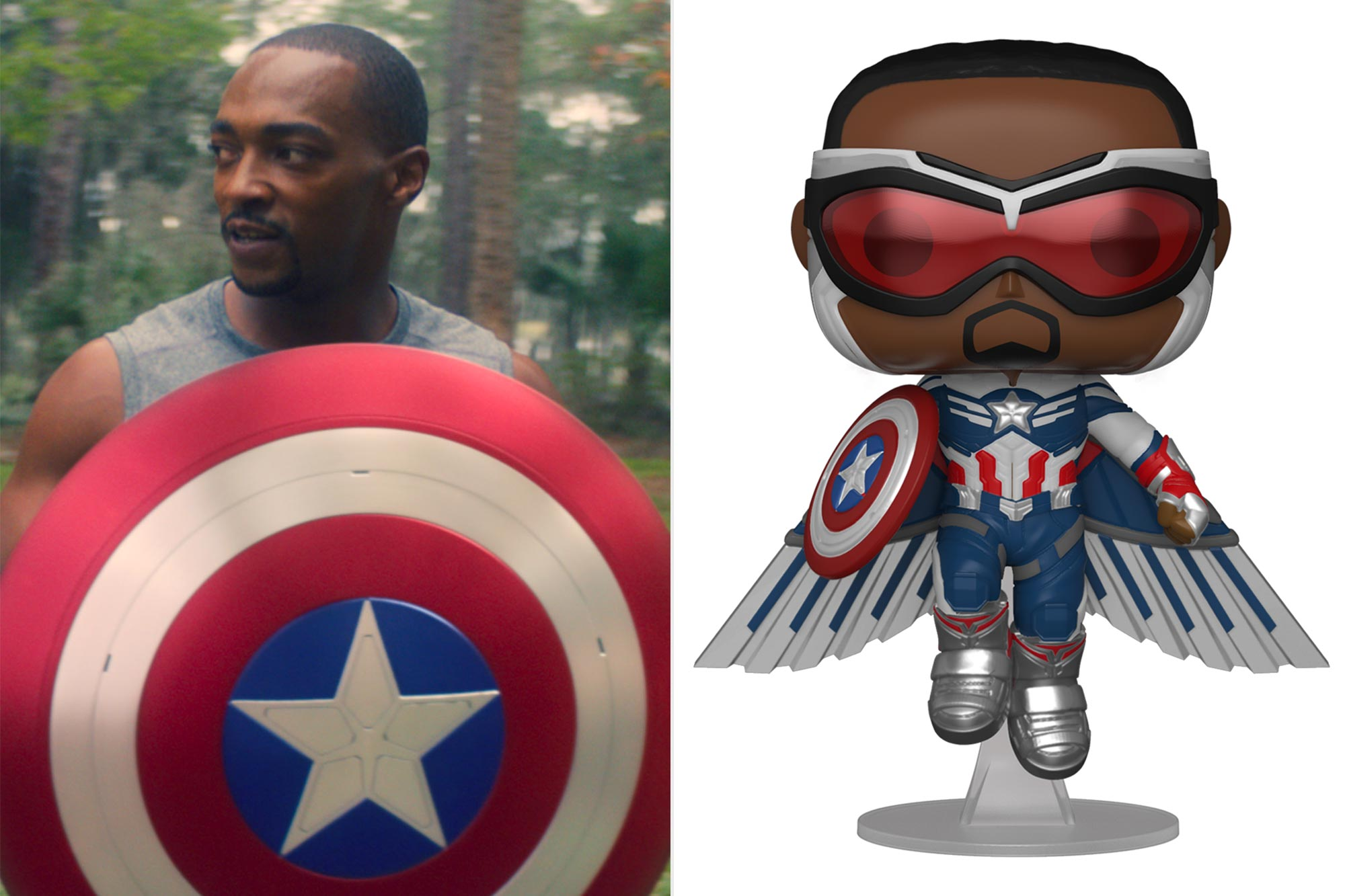 Marvel Christmas Funko Pops 2021 Exclusive First Look At New Falcon And The Winter Soldier Merch Ew Com