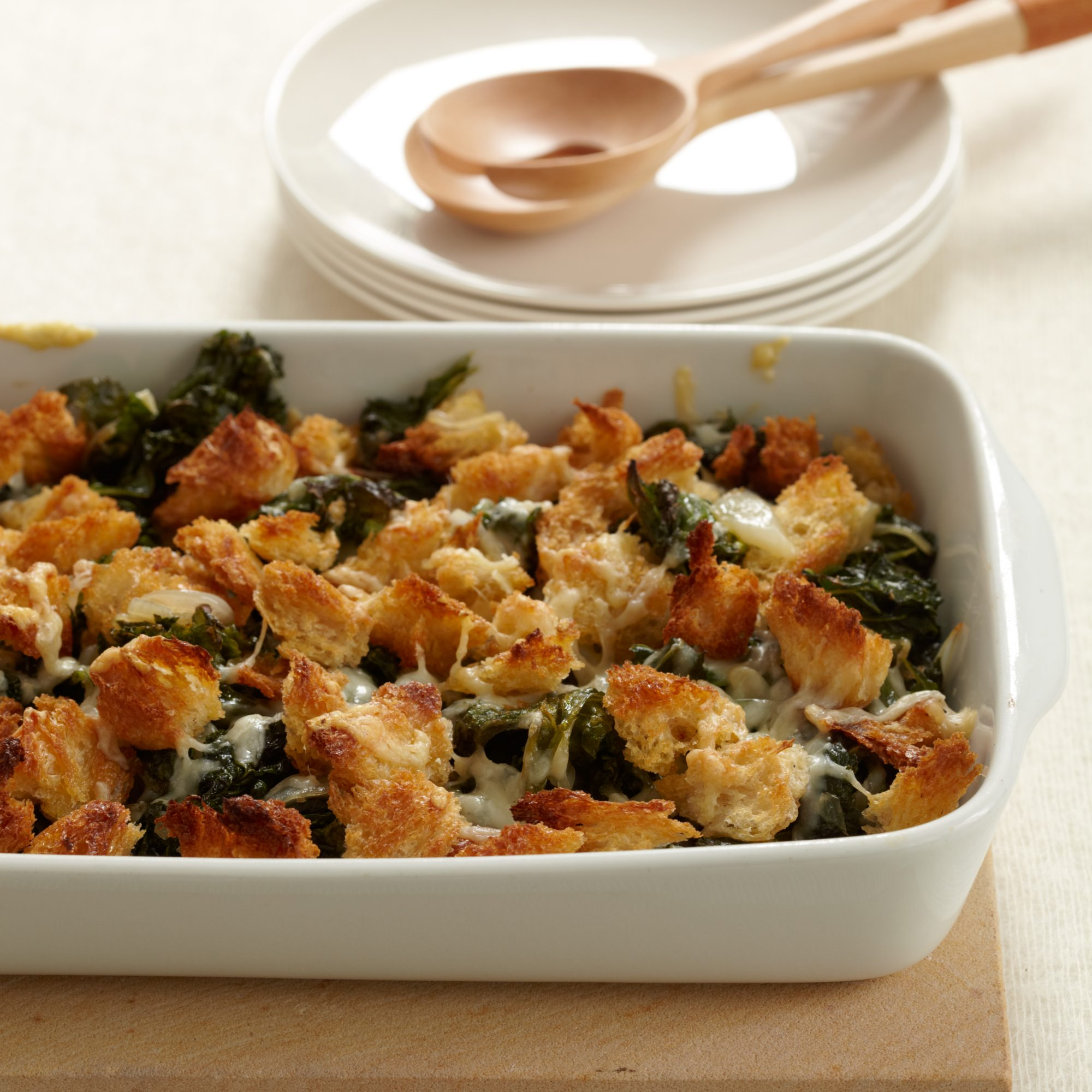 Crispy Baked Kale With Gruy Egrave Re Cheese Recipe Sam Hayward Food Wine