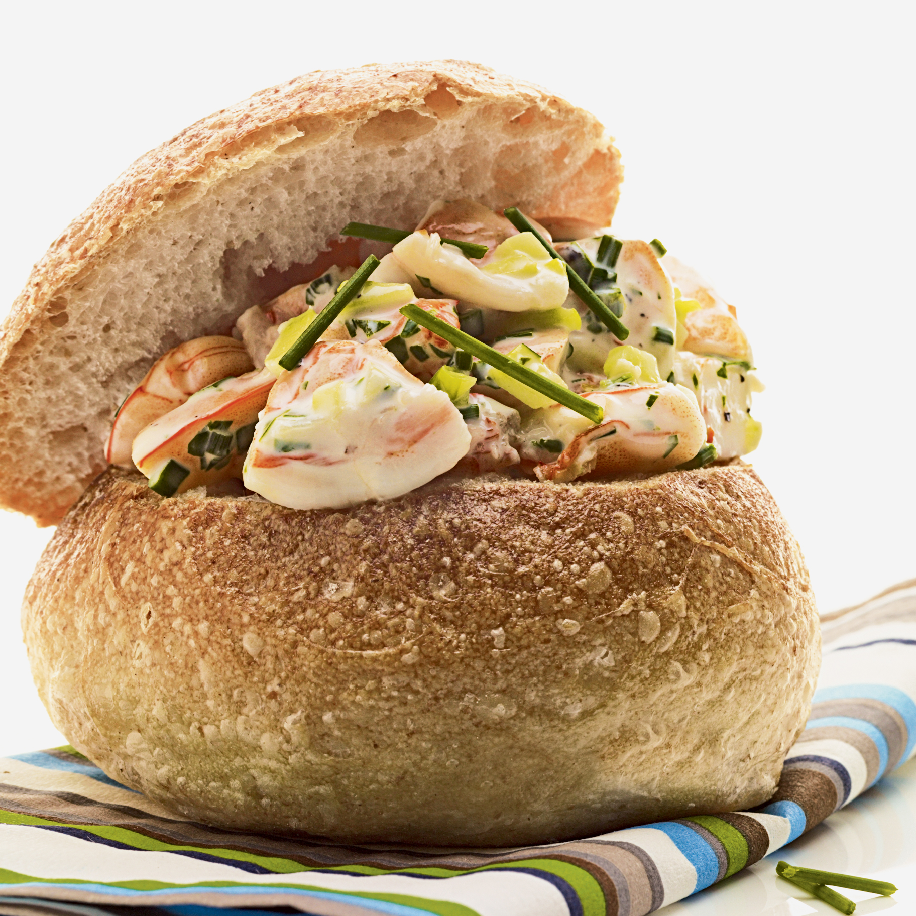 Shrimp Salad Sliders Recipe Craig Rivard Food Wine