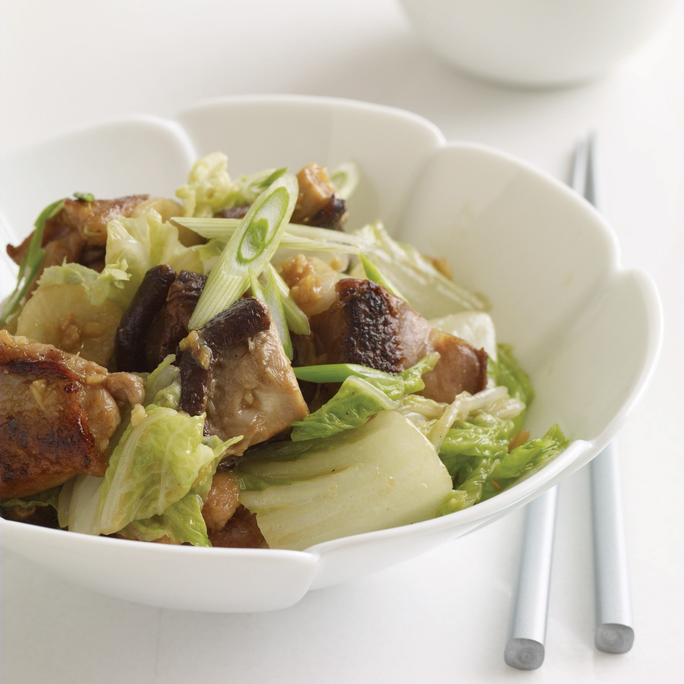 Miso Ginger Chicken And Cabbage Recipe Marcia Kiesel Food Wine