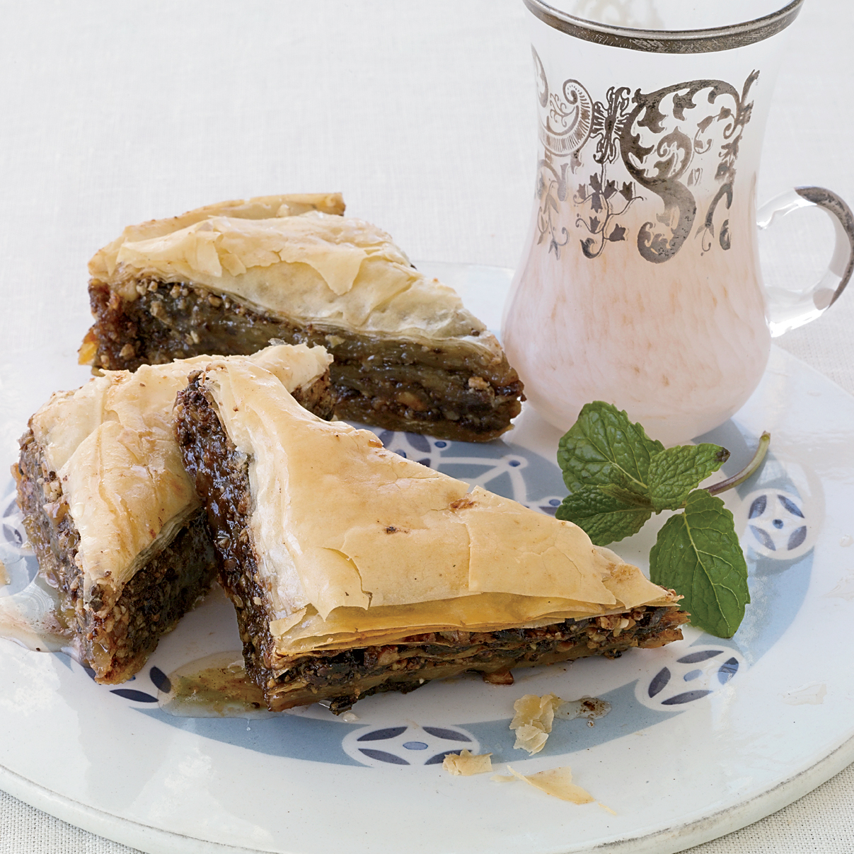 Chocolate Hazelnut Baklava Recipe Ana Sortun Food Wine