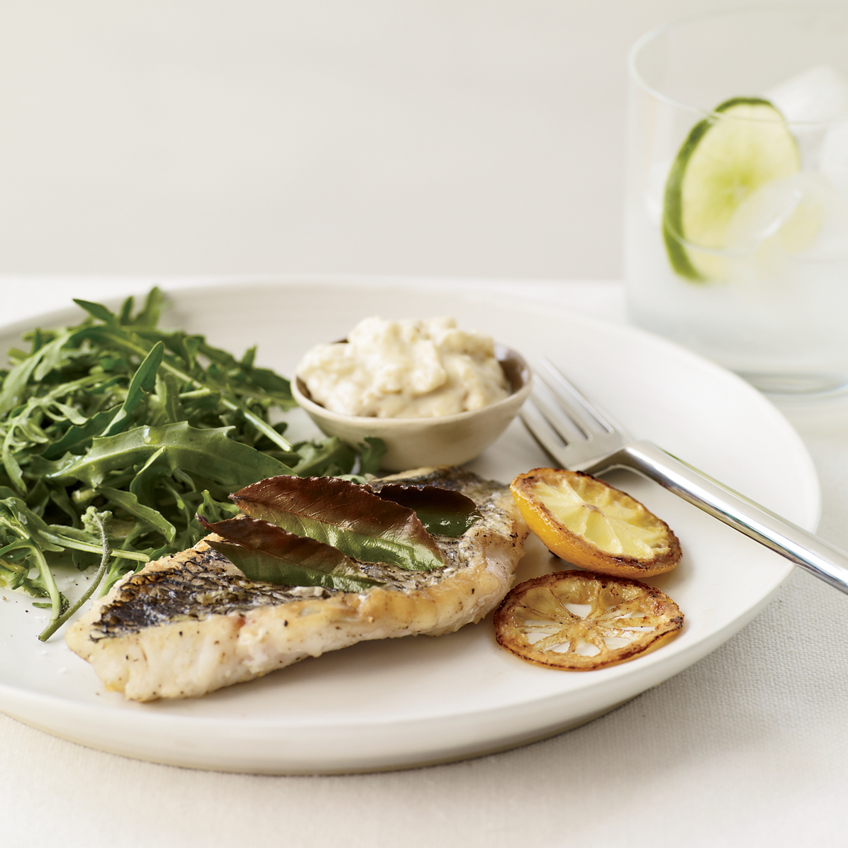 Herb Broiled Fish With Lemon Aioli Recipe Grace Parisi Food Wine