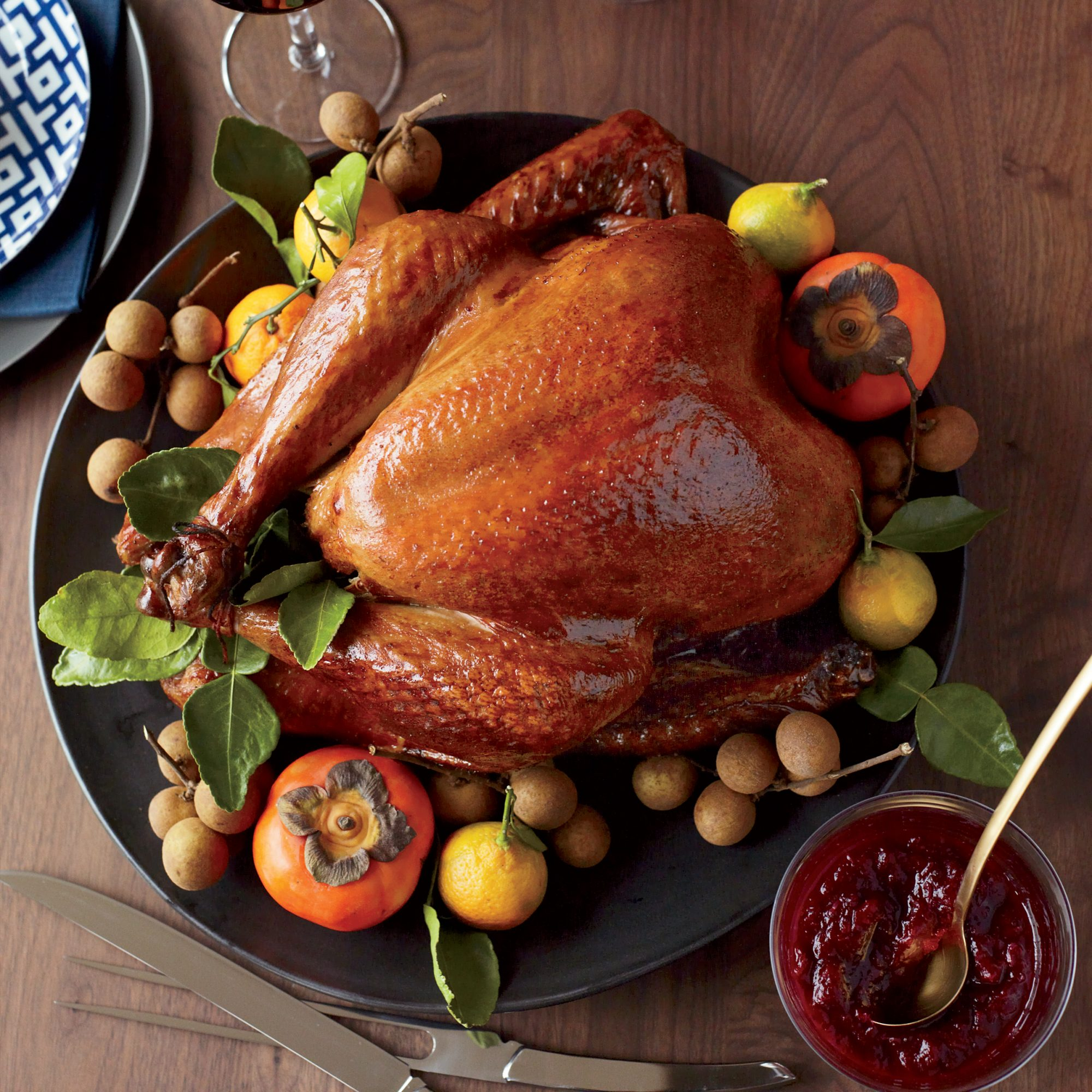 Soy Sauce And Honey Glazed Turkey Recipe Joanne Chang Food Wine