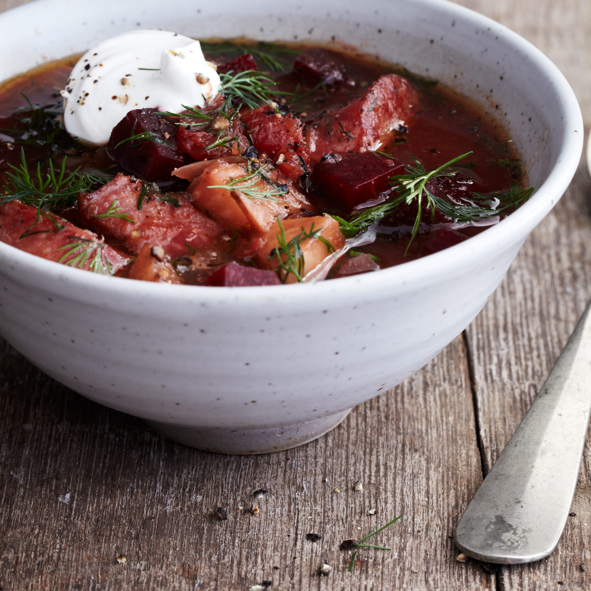 Chunky Borscht Recipe Quick From Scratch Herbs Spices Food Wine