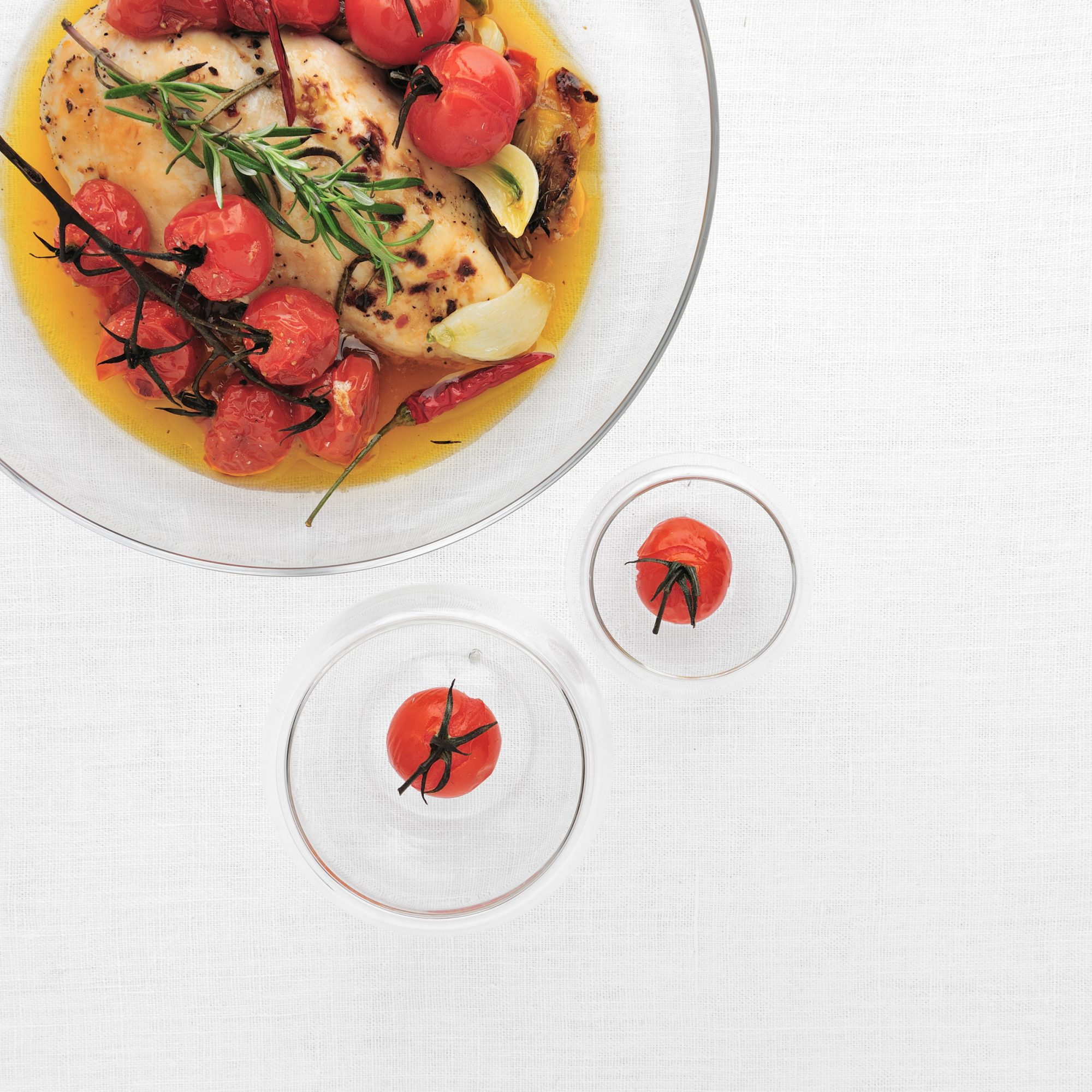 Honey Rosemary Chicken With Cherry Tomatoes Recipe Diana Sturgis The Food Wine Test Kitchen Food Wine